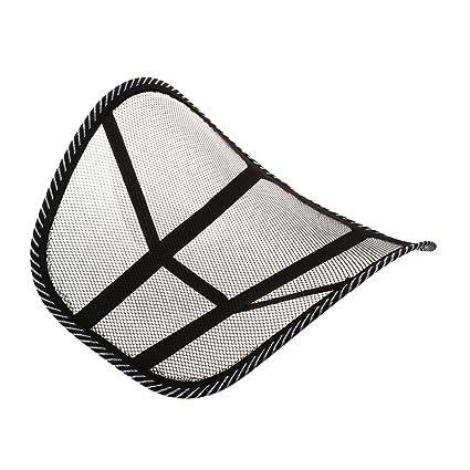 Almohada de lumbar - SODIAL(R)Almohada de lumbar de apoyo trasero de la