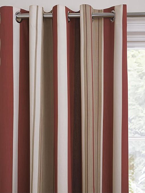 Whitworth Jacquard Eyelet Curtains [Single curtain width - 117cm ...