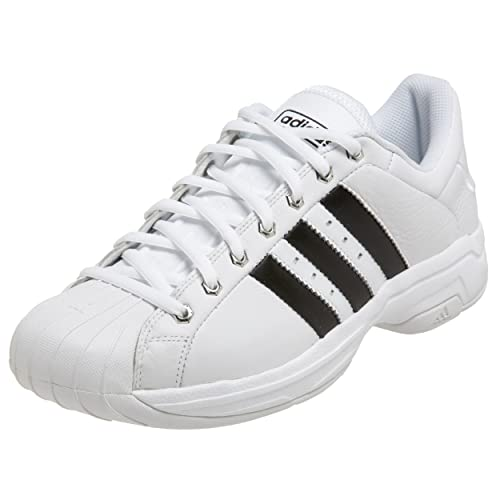 Adidas Men's Superstar 2G Basketball Shoe,WhiteBlackSilver