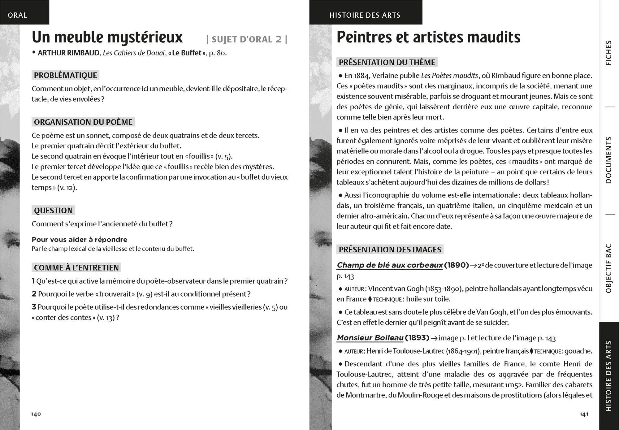 Les Cahiers De Douai Poésies Suivi Dun Parcours Sur La