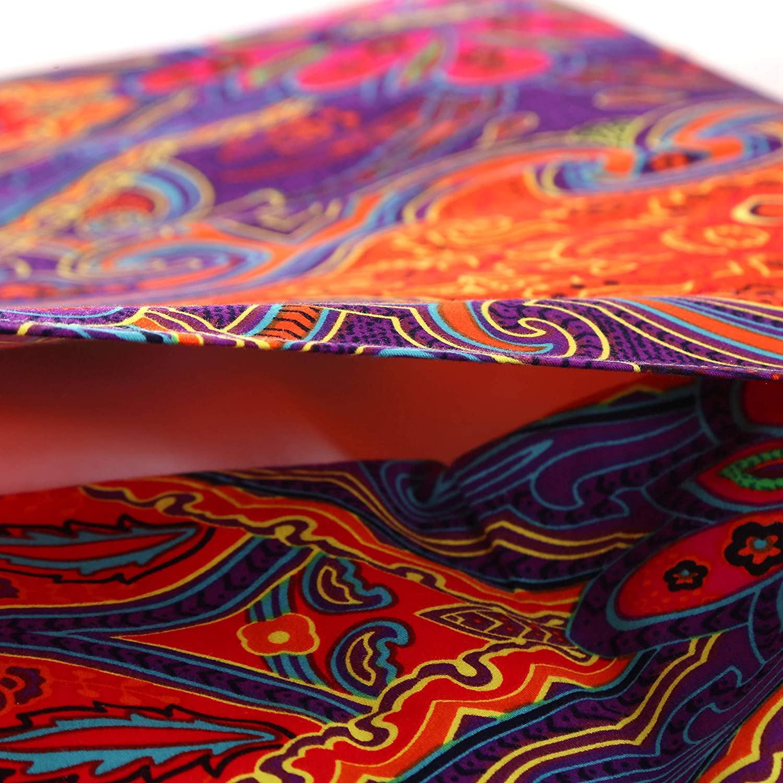 4 pcs Unimall Paure de lit 4//3 Pcs Style Boho//Indien Linge de lit Coton Housse de Couette Taies doreiller Boheme Housse de Coussin Drap Housse Drap de lit