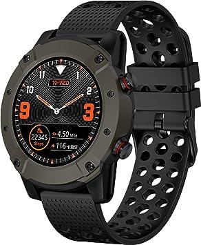 Denver SW-650 - Reloj Inteligente con Bluetooth y GPS, medidor de frecuencia cardíaca y presión Arterial, Color Negro: Amazon.es: Electrónica