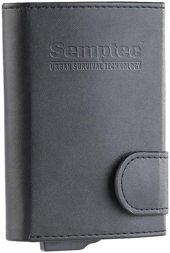 Portefeuille avec étui RFID pour cartes bancaires SEMPTEC CKI3X