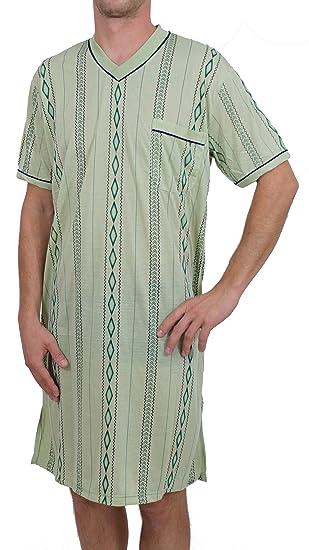 herren nachthemd kurzarm