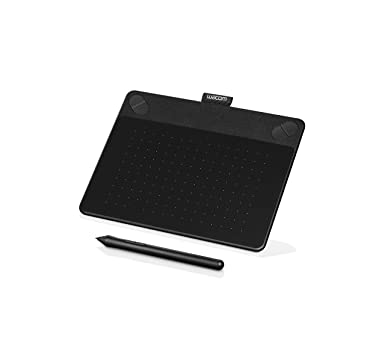 Wacom CTH-490/K2-CX Small Photo Pen and Touch Tablet (6.7 NCH), Black Graphic Tablets at amazon