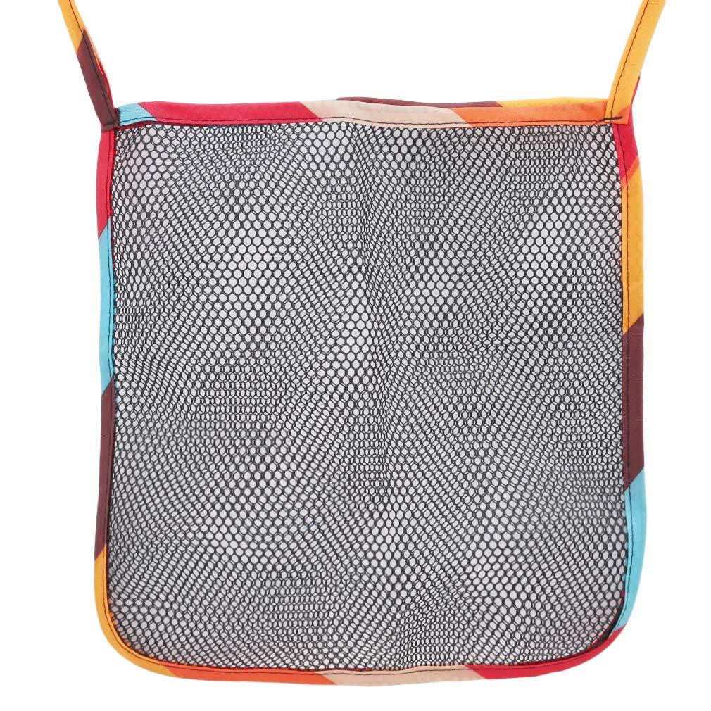 GloryMM Stroller Bottom Storage Bag Mesh Hanging Seat Pocket Shopping Storage Case Organizer Transport Bag Stroller Accessories,Type 1