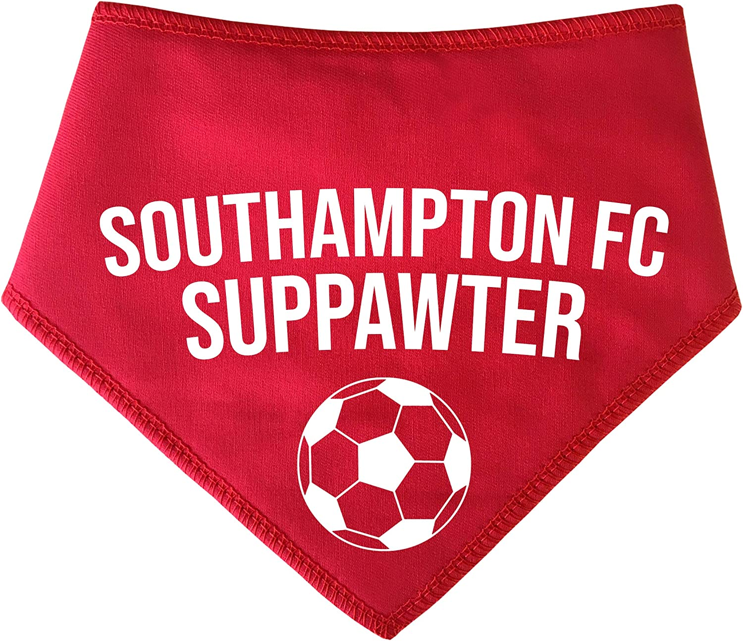 Small Dogs Terriers /& Cockerpoo Spoilt Rotten Pets S2 Red Southampton Football Suppawter The Saints Dog Scarf Bandana For Dogs