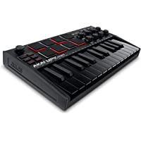 AKAI Professional MPK Mini MK3 | 25 Key USB MIDI Keyboard Controller With 8 Backlit Drum Pads, 8 Knobs and Music…