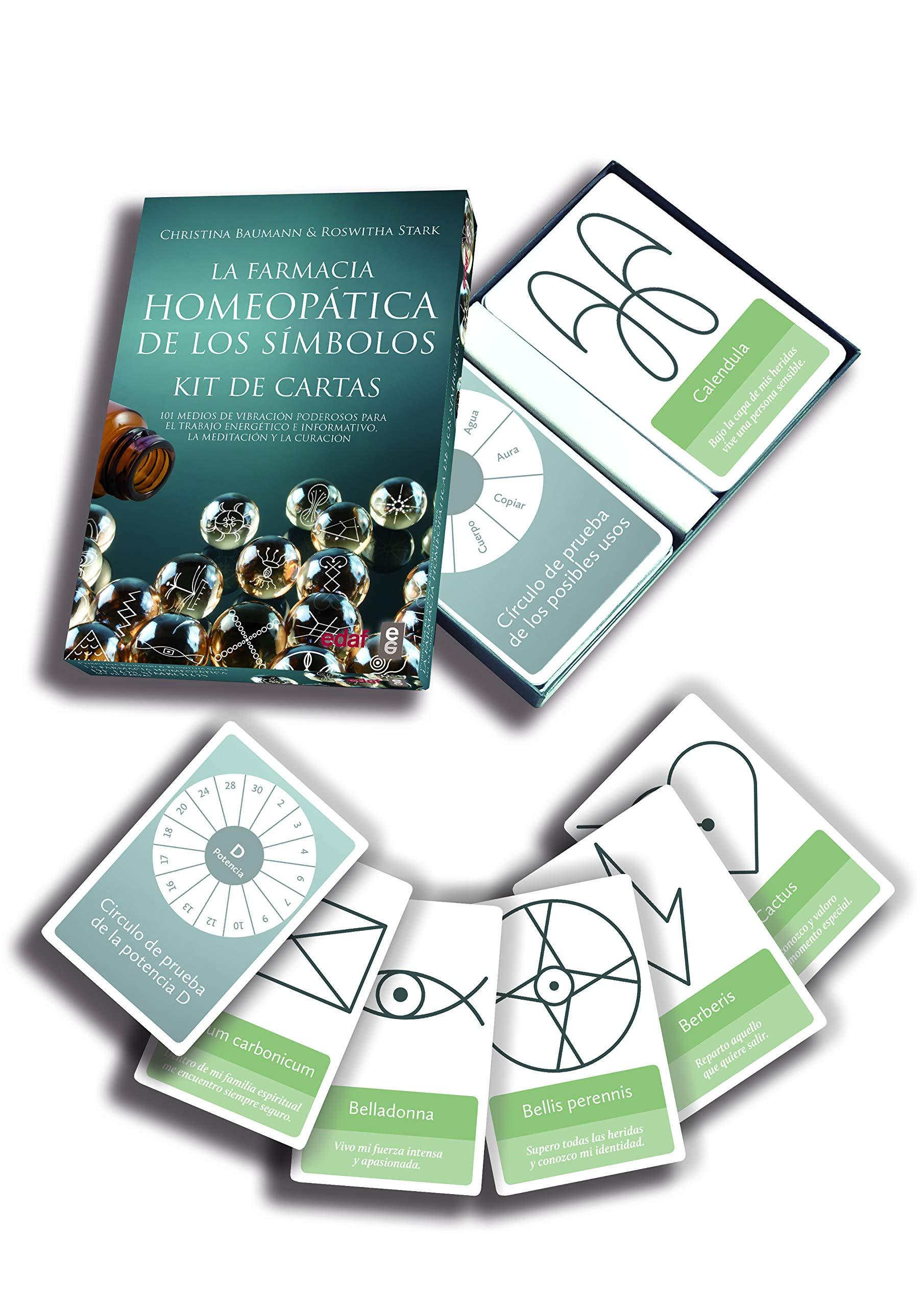 La farmacia homeopática de los símbolos KIT DE CARTAS ...