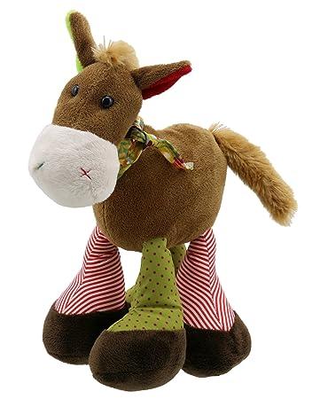 Stofftiere PlÜschtier Kuscheltier Pferd Ponny Mit Grossen Augen Ca 25 Cm!