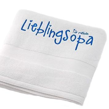 'Europa regalo Idea: Europa mano bordada – Toalla de baño toalla de manos