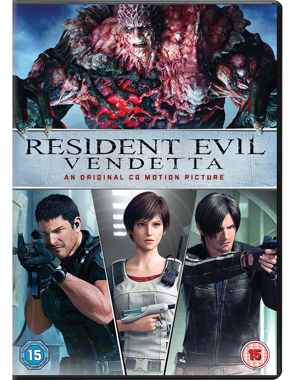 resident evil vendetta full movie english