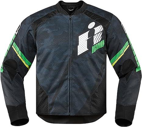 Icono Overlord Primaria textil chaqueta verde M 2820 - 3642 ...
