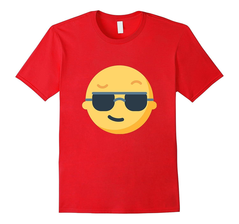 Cool Sunglasses Emoji T-Shirt Smiley Face-CD