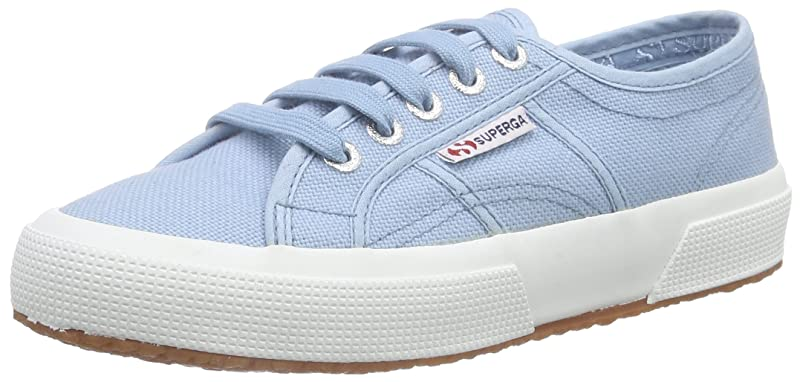 Superga 2750 Cotu Classic Sneakers Low-Top Unisex Damen Herren Hellblau
