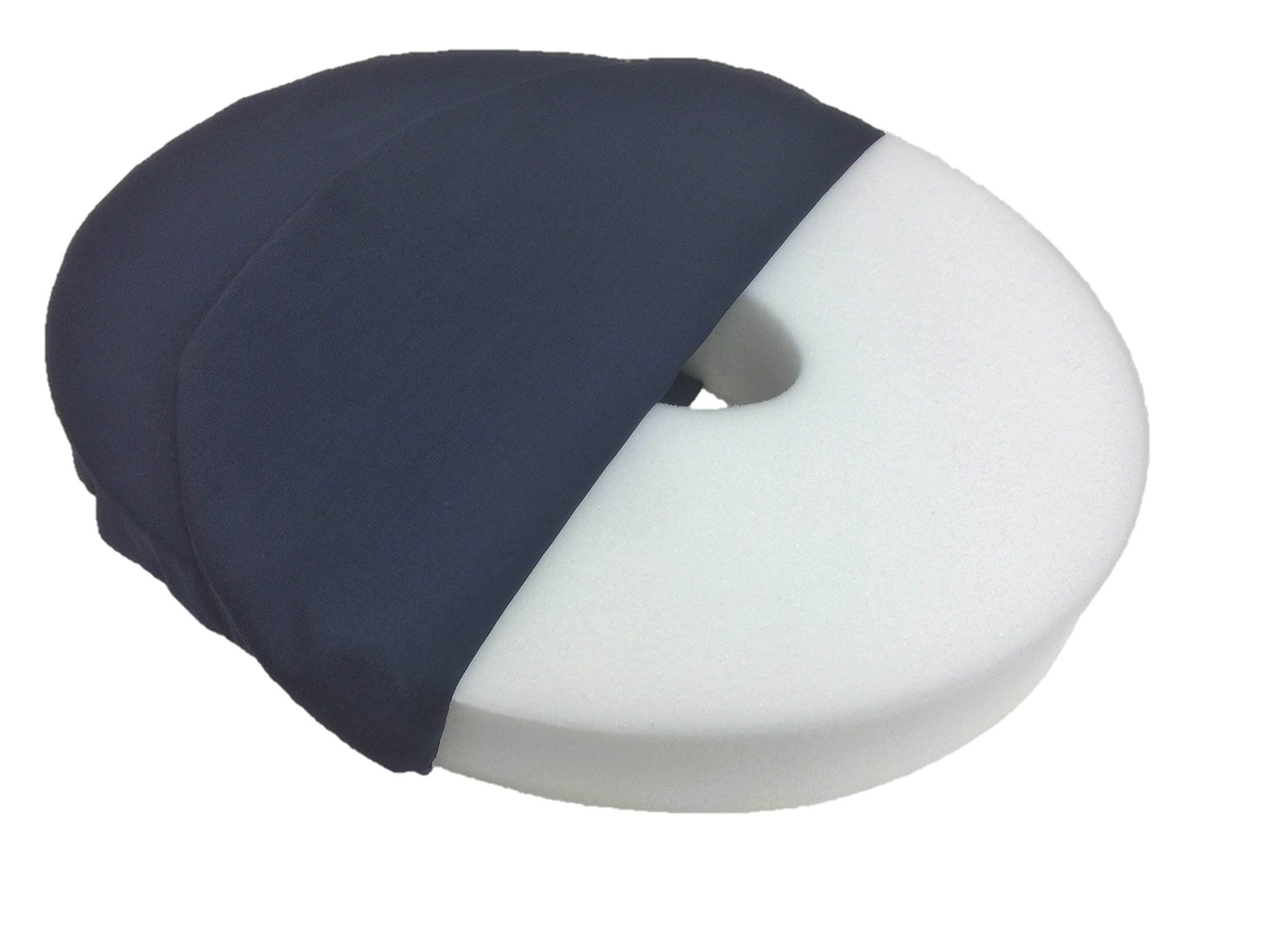 Geneva Healthcare 14'' Memory Foam Ring Cushion - 15'' x 13'' x 2.5'' - 1/EA