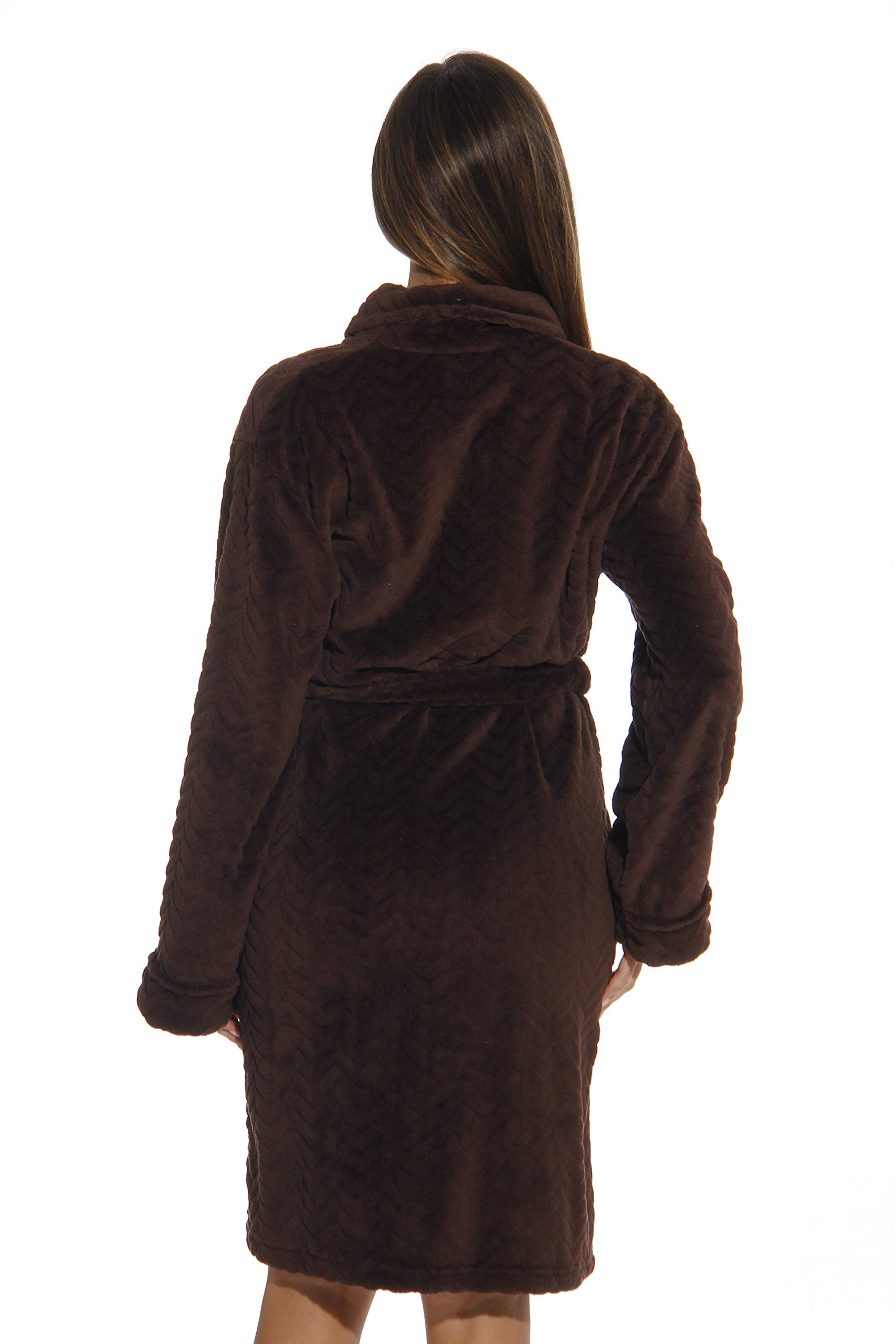 6312-Brown-L Just Love Kimono Robe / Bath Robes for Women by Just Love (Image #3)