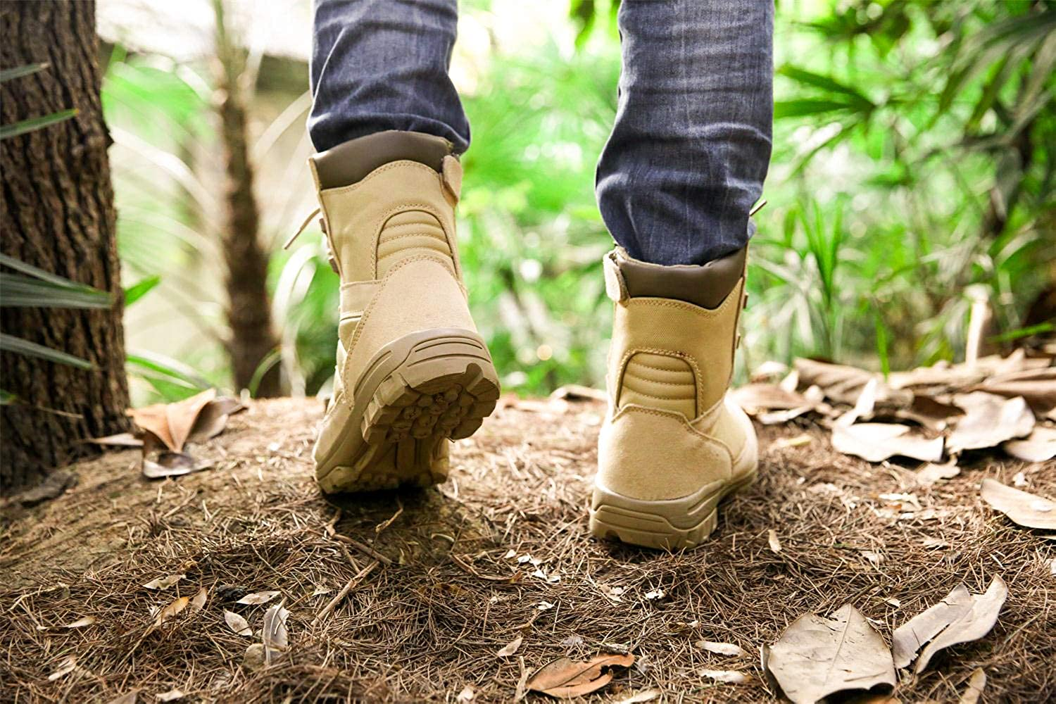 Mens Military Tactical Boots Army Jungle Boots