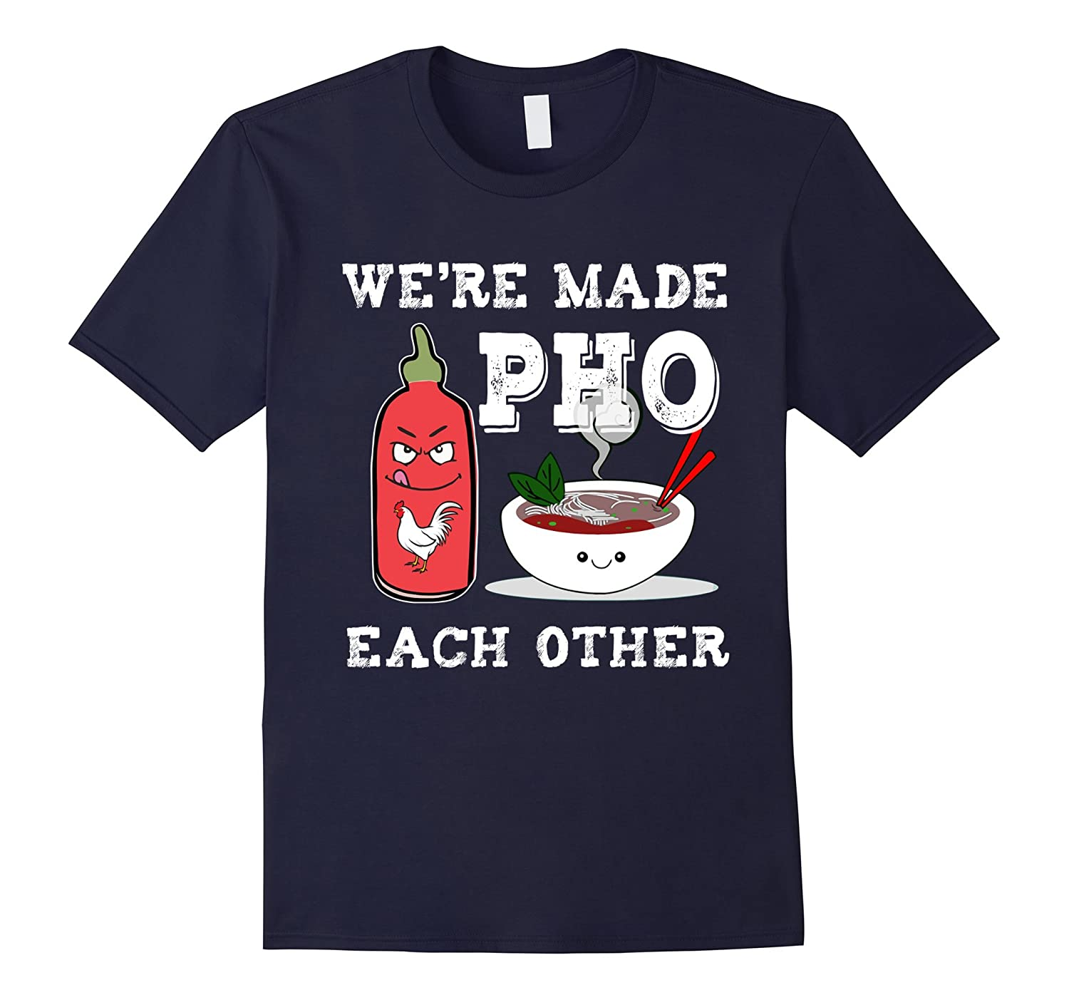 Were Made Pho Each Other Tshirt-CD