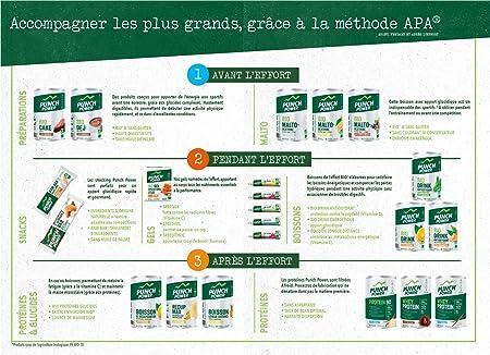 Punch POWER Marca francesa deporte Gel Antidesfallecimiento Speed Tonic Ecológico Sabor Cola 6 x 25 g