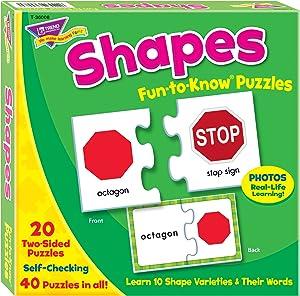 TREND enterprises, Inc. Shapes Fun-to-Know Puzzles