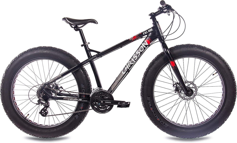 26 pulgadas Fat Bike Mountain Bike Bicicleta CHRISSON Fat One con ...