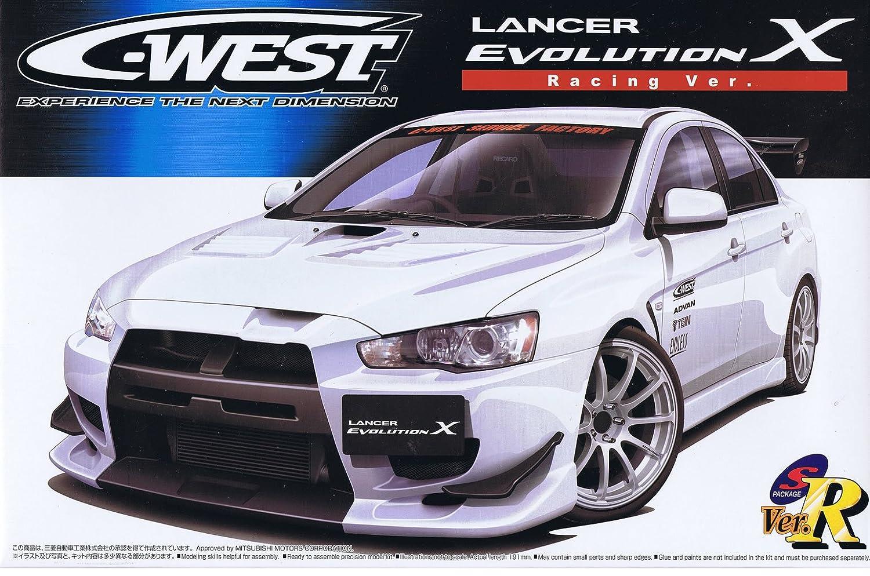 1/24 C-WEST Lancer Evolution X (Racing Ver.) (Model Car)