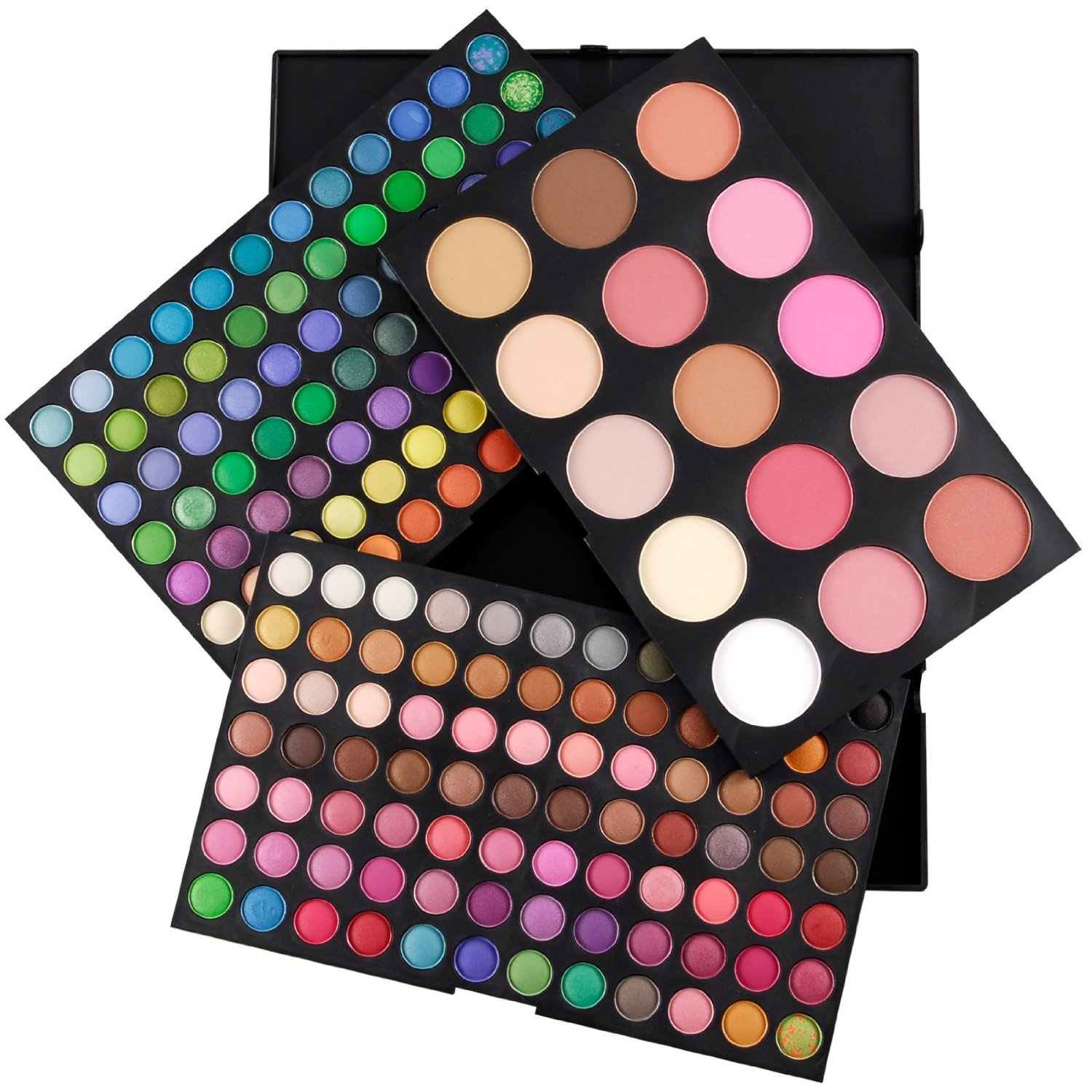 183 Colors Eyeshadow Blush Bronze Highlight Palette Make up Kit by DELIAWINTERFEL