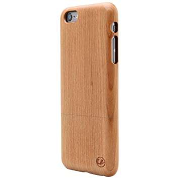 e8305527b77 Ultratec Funda protectora para iPhone 6/6s Plus, funda de madera natural de  cerezo: Amazon.es: Electrónica