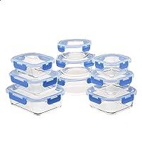 Deals on Amazon Basics Glass Locking Lids Food Storage 18-Piece Set