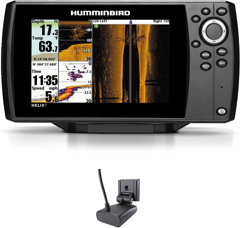 Humminbird Helix 7 SI GPS Side Imaging Echolot Mar Tarjeta Combo para Plotter Montaje Fijo: Amazon.es: Electrónica