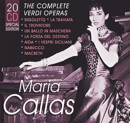 Maria Callas/ The Complete Verdi Operas & Original Studio & Live Recordings