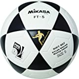 Mikasa ballon footvolley pro ft - 5–noir/blanc-taille 5–1301
