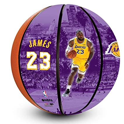buy online b49f7 a04be LeBron James Los Angeles Lakers Officially Licensed ...