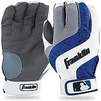 Franklin Sports MLB Shok-Wave Guantes de bateo Talla Juvenil
