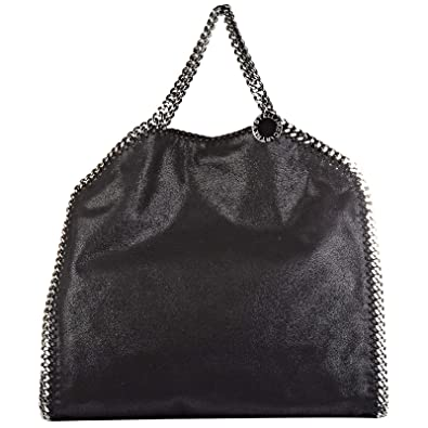 Stella Mccartney women s handbag shopping bag purse falabella shaggy deer  foreve d35102d13700a