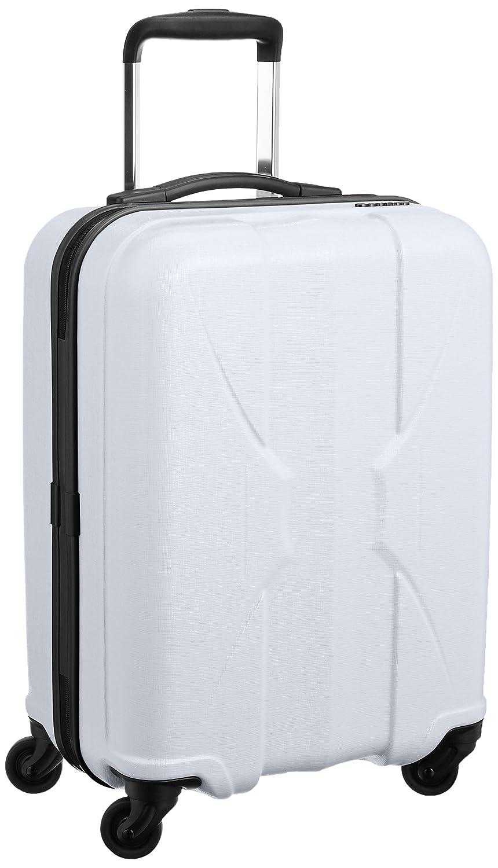 [サンコー] 四季颯 スーツケース shikisou軽量 マクロロン小型 国産 機内持込 容量35L 縦サイズ54cm 重量2.4kg PSK1-49 B019GHKB3Sホワイト
