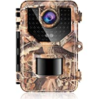 Sesern 20MP 1080p Trail Camera with Night Vision