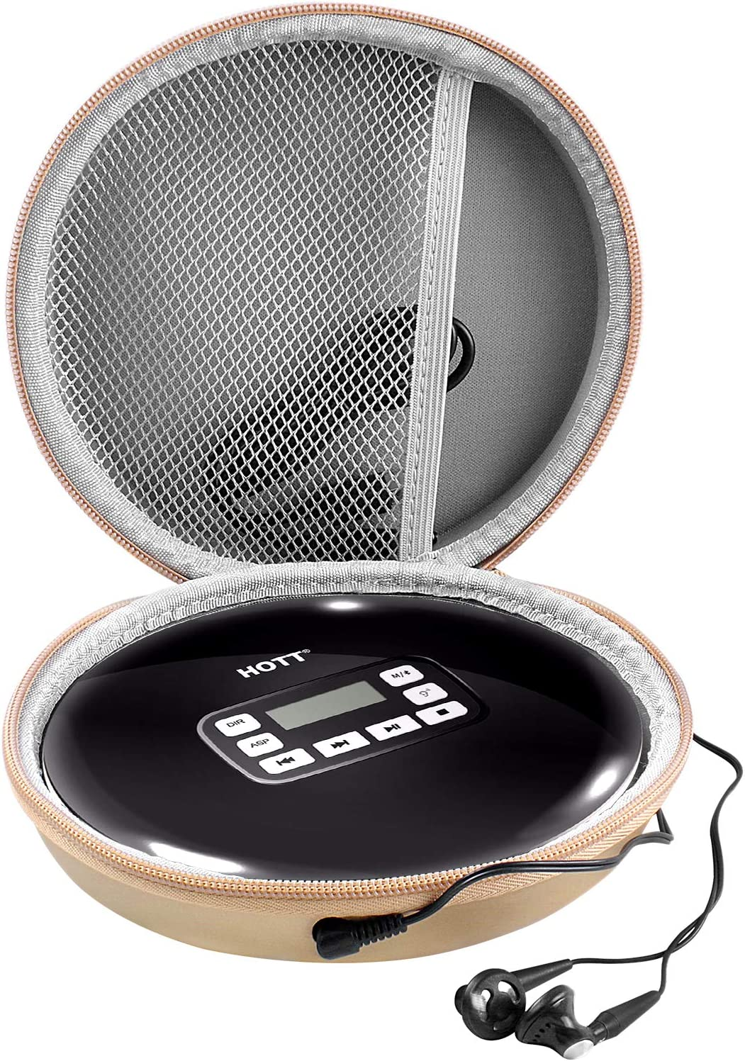 Aproca Hard Carry Travel Case for Coby Portable Compact Anti-Skip CD Player