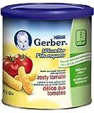 Gerber Zesty Tomato, Corn Snack, 42g canister (6 pack)