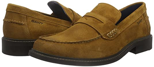GANT Harry, Mocasines para Hombre, Marrón-Braun (Tabacco Brown G42), 42 EU: Amazon.es: Zapatos y complementos