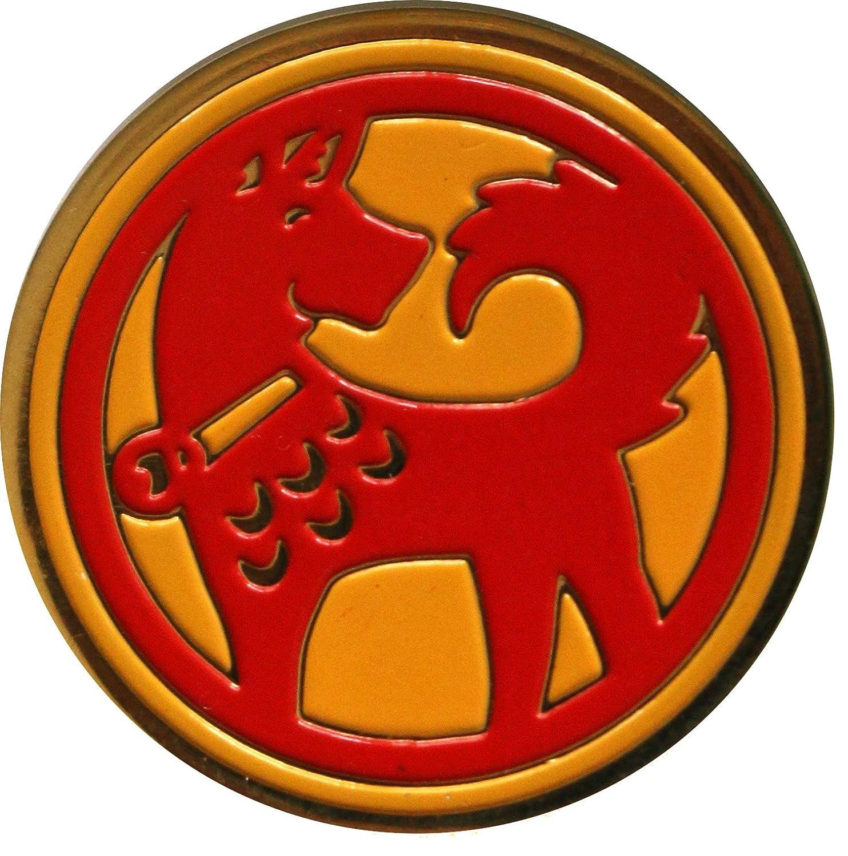 犬の年のクラシックChinese Zodiacゴルフボールマーカー   B077ZPF2GQ