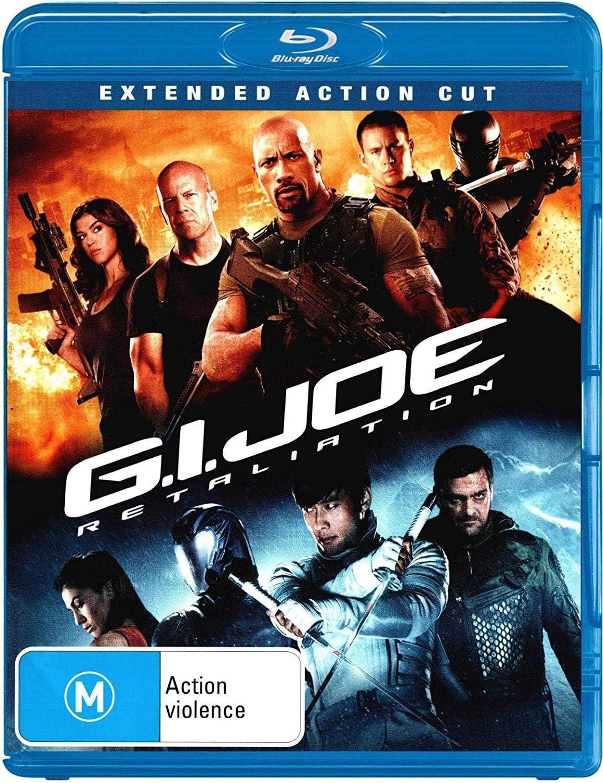G I Joe Retaliation 2013 Extended Action Cut Amazon Co Uk Dvd Blu Ray