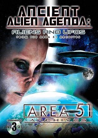Ancient Alien Agenda: Aliens & Ufos From Area 51 Reino Unido ...