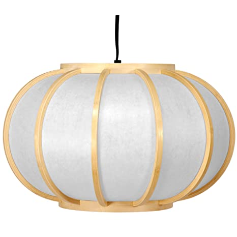 Amazon.com: Oriental Muebles Harajuku Hanging Lantern, color ...