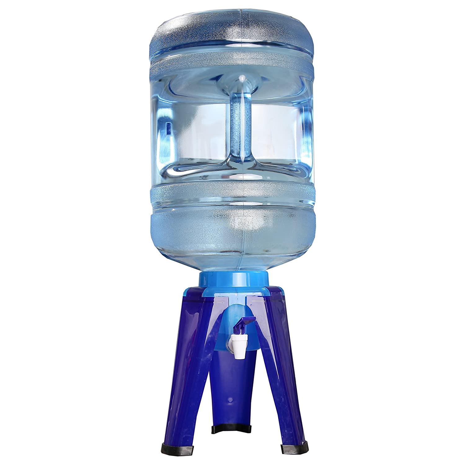 Home-x 5 Gallon Water Bottle Dispenser Stand, Water Cooler Stand