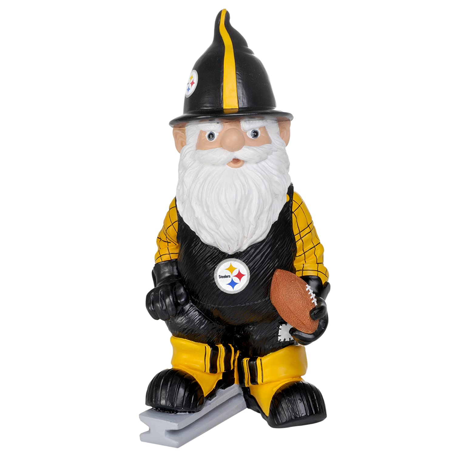 Forever Collectibles NFL Pittsburgh Steelers Team Thematische Gartenzwerg GNNFTH