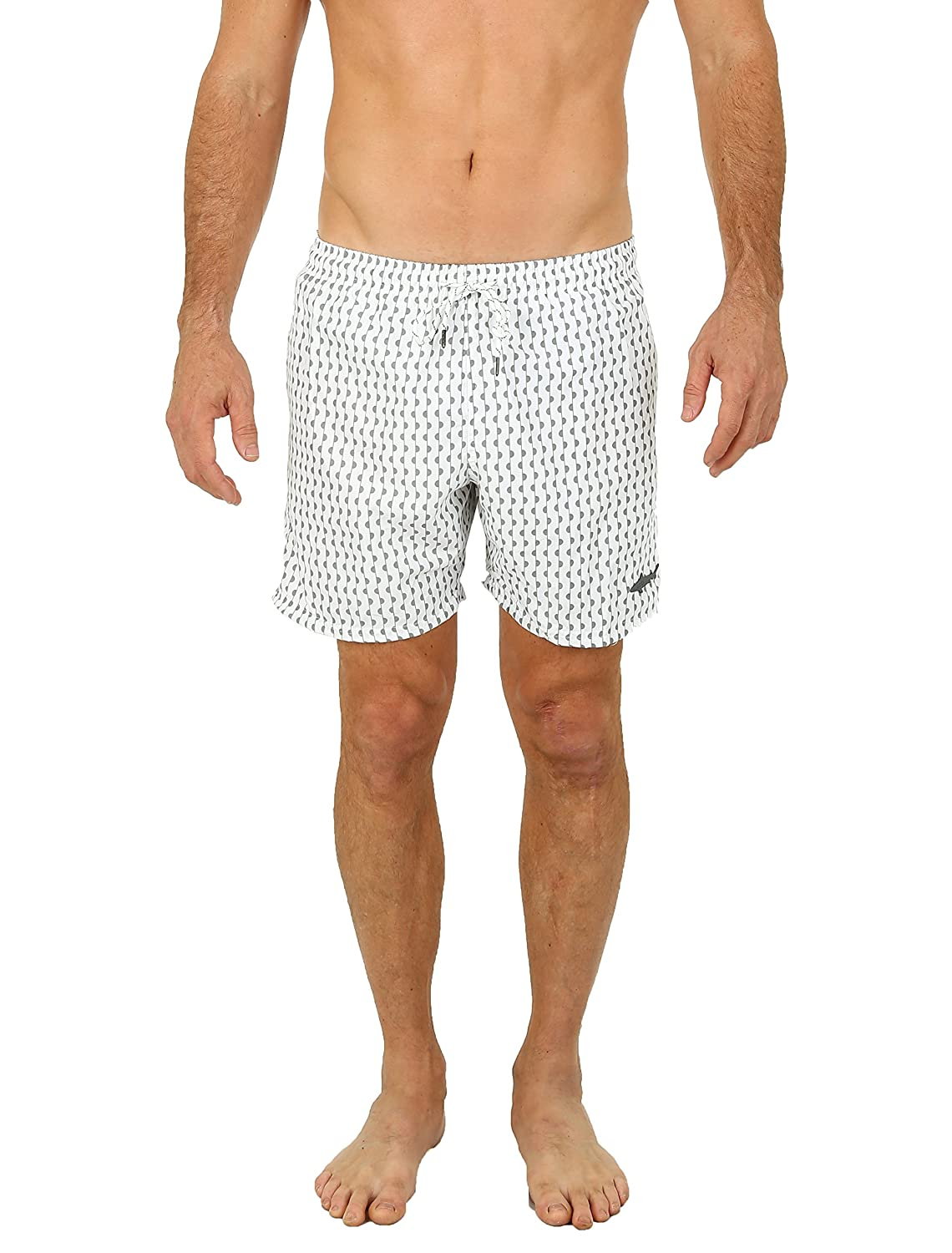UZZI Men's Bimini Swim Trunks