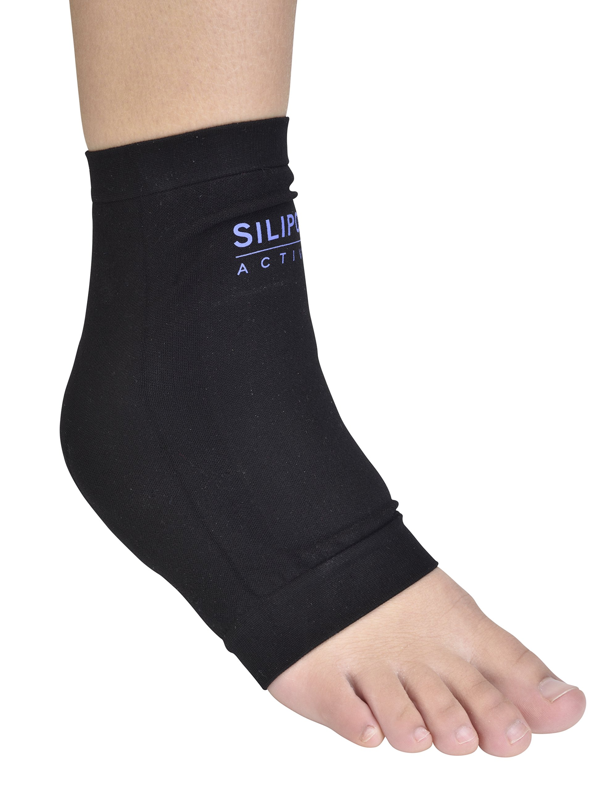 Silipos Active 7202  Boot Bumper  - Ankle Compression Sleeve with Mineral Oil Gel Pads. Foot Care Products