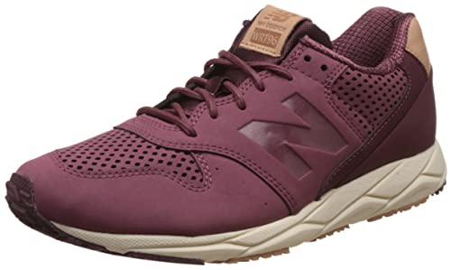New Balance WRT96 Women's Sneaker Red WRT96TNC, Size:37.5